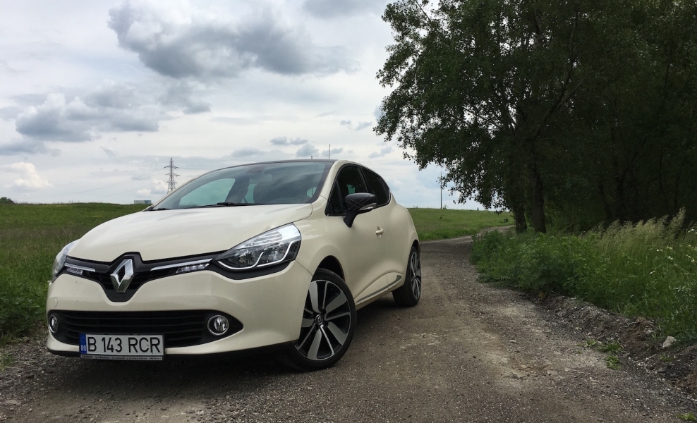 Renault Clio Facelift  - Etalon in clasa